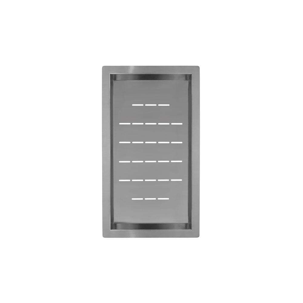 स्टेनलेस स्टील झरनी का कटोरा - Nivito CU-WB-240-B