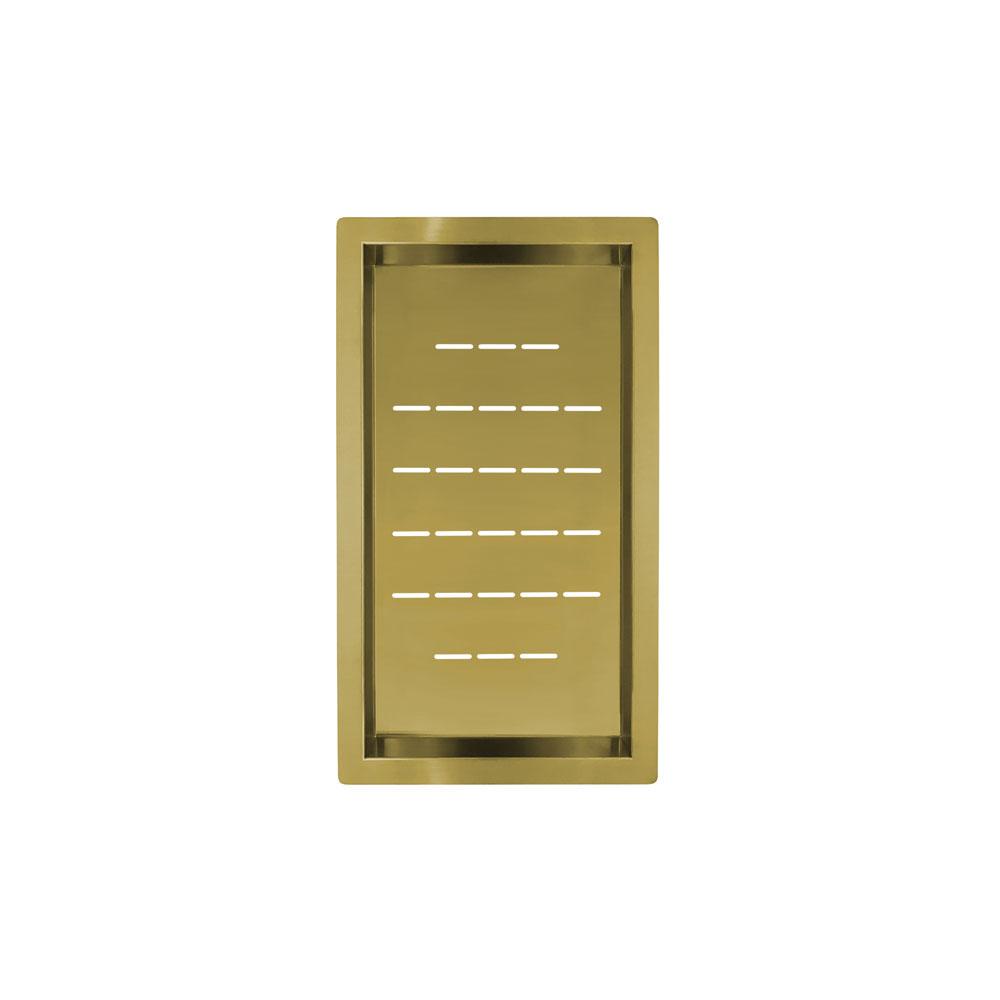 पीतल/गोल्ड झरनी का कटोरा - Nivito CU-WB-240-BB