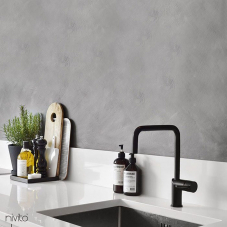 Black Kitchen Mixer Tap - Nivito 2-RH-320