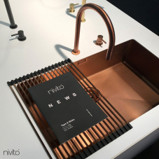 तांबा रसोई के पानी का नल - Nivito 1-CU-700-BC