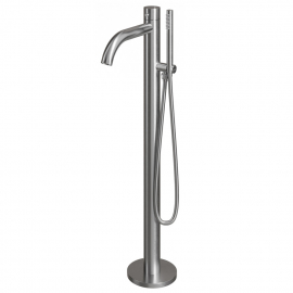 स्टेनलेस स्टील अकेले बाथटब का नल खड़े हो जाओ - Nivito CR-10