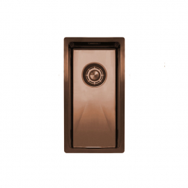 Copper Kitchen Sink - Nivito CU-180-BC