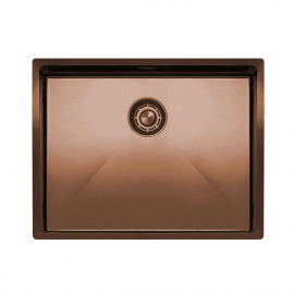 Copper Kitchen Basin - Nivito CU-550-BC