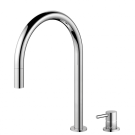Kitchen Mixer Tap Pullout hose / Seperated Body/Pipe - Nivito RH-110-VI