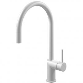 White Kitchen Mixer Tap Pullout hose - Nivito RH-130-EX