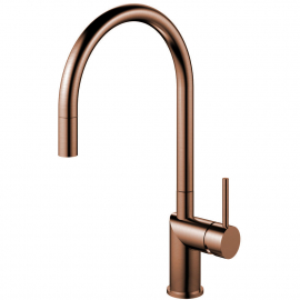 Copper Kitchen Mixer Tap Pullout hose - Nivito RH-150-EX