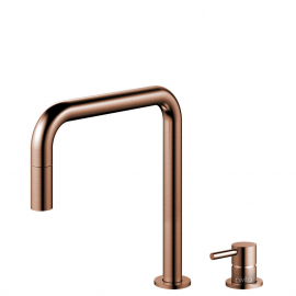 Copper Kitchen Mixer Tap Pullout hose / Seperated Body/Pipe - Nivito RH-350-VI